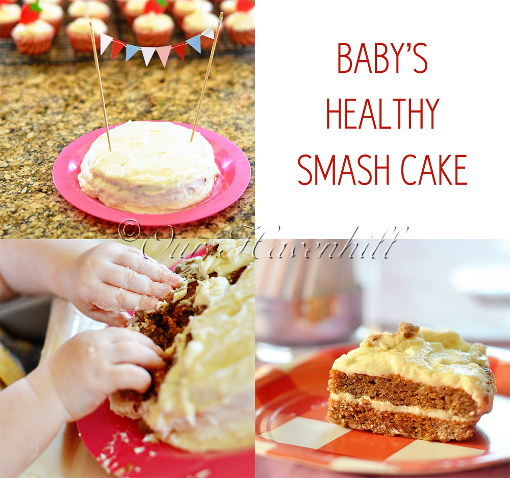 Recipe Healthy Smash Cake For Babys 1st Birthday Our Havenhill