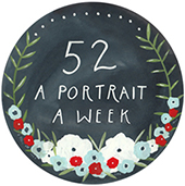 52 - a portrait a week. Brought to you by chendfidel.blogspot.com