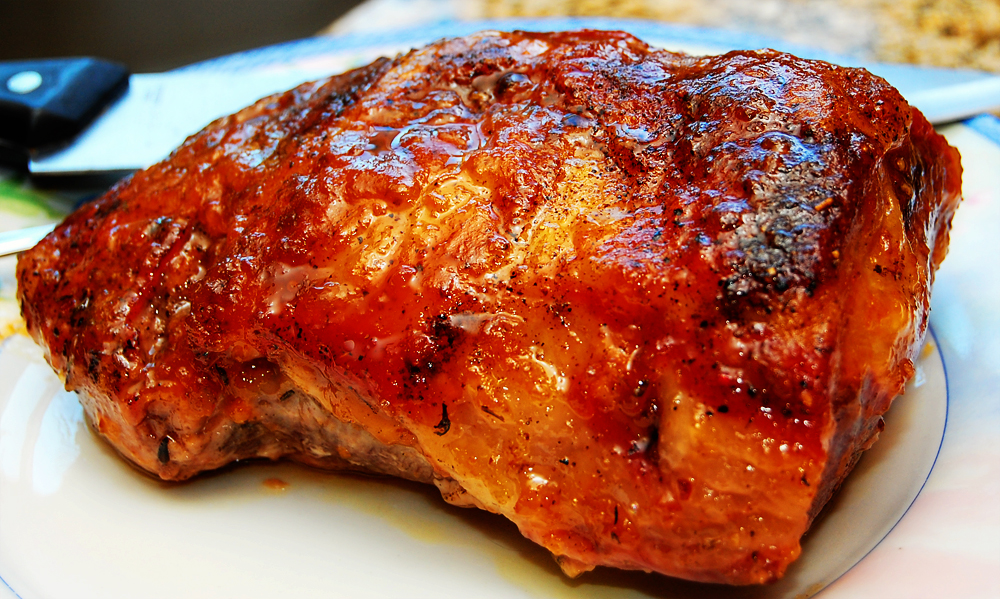 Recipe Honey Apricot Glazed Pork Roast Our Havenhill